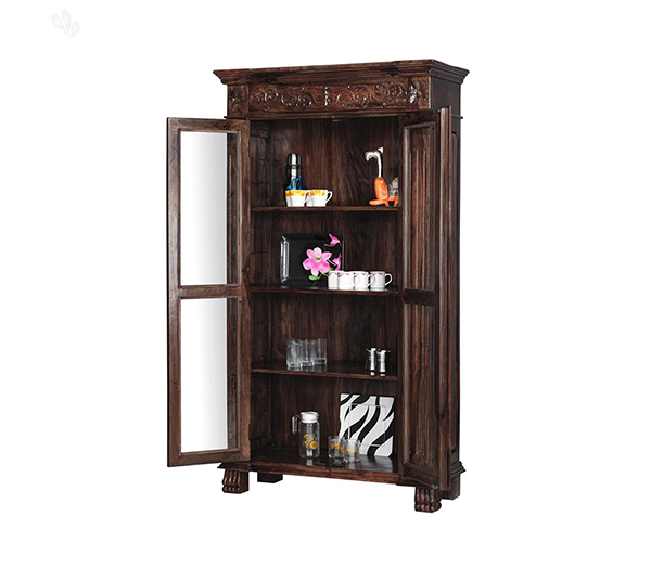 Verito Crockery Unit Wooden Furniture Shop Online Store Near Me Pune Bangalore Indore Jaipur Jodhpur Mumbai Satara Kolhapur Lonavala Dadar Andheri Vile Parle Borivali Kothrud Kondhwa Viman Nagar Wagholi Hinjewadi Wakad Baner Pimpri Chinchwad