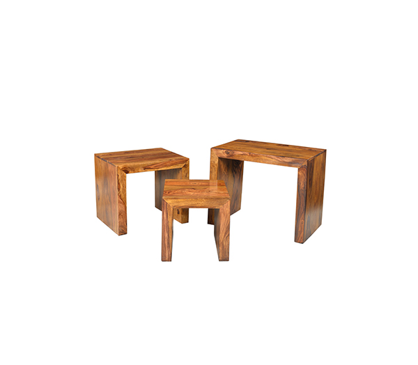 Cube Set Of 3 Wooden Furniture Shop Online Store Near Me Pune Bangalore Indore Jaipur Jodhpur Mumbai Satara Kolhapur Lonavala Dadar Andheri Vile Parle Borivali Kothrud Kondhwa Viman Nagar Wagholi Hinjewadi Wakad Baner Pimpri Chinchwad