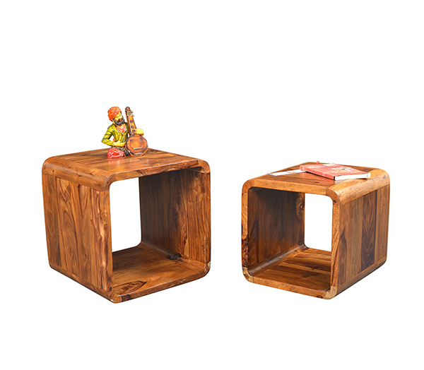 Square Cube Set Of 2 Wooden Furniture Shop Online Store Near Me Pune Bangalore Indore Jaipur Jodhpur Mumbai Satara Kolhapur Lonavala Dadar Andheri Vile Parle Borivali Kothrud Kondhwa Viman Nagar Wagholi Hinjewadi Wakad Baner Pimpri Chinchwad